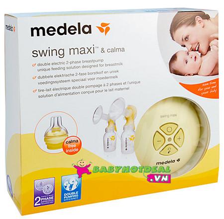 Máy hút sữa đôi Mini Medela Swing Maxi
