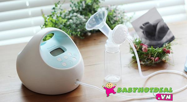 Máy hút sữa điện đôi Spectra S1 tiện lợi cho mẹ
