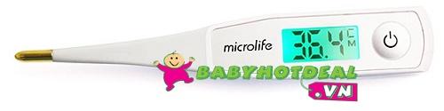 Nhiệt kế điện tử Microlife MT550 đo trong 10s