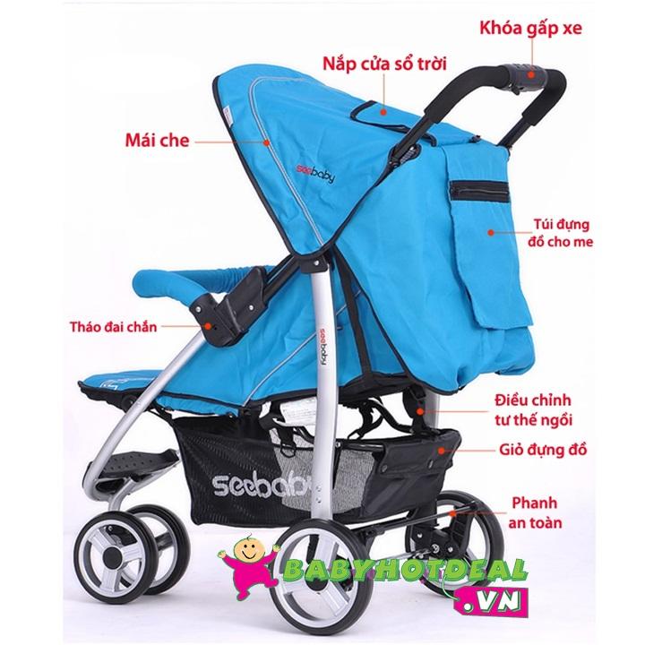 Xe đẩy hiện đại Seebaby T01A