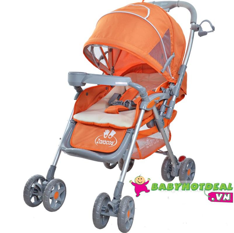 Xe đẩy em bé Zaracos Venza 9586 màu cam