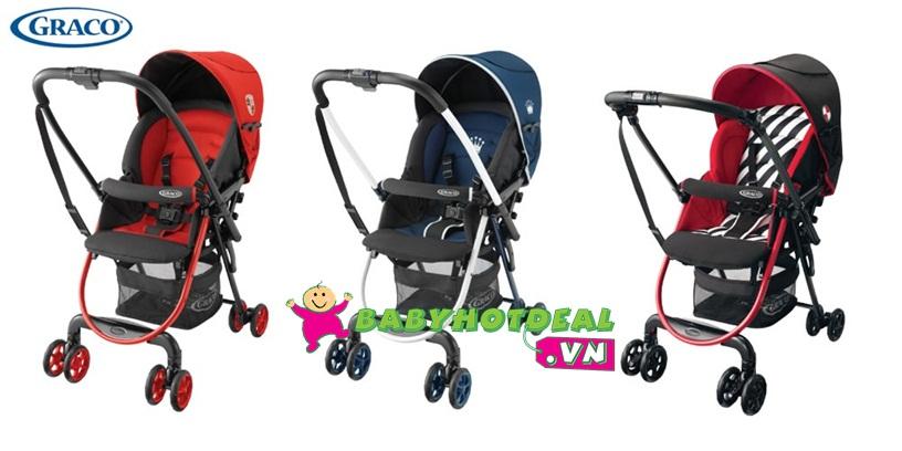 Xe đẩy trẻ em Graco CitiLite R Đỏ GC-6Y86BYRJ