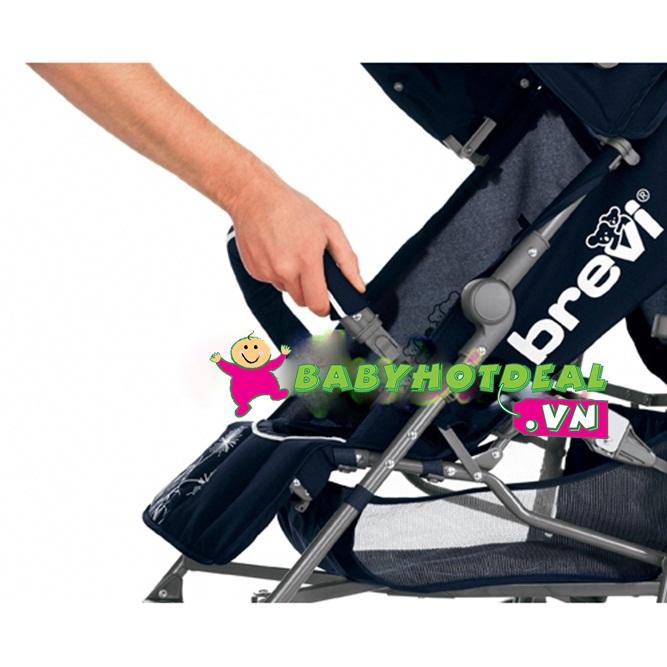 Xe đẩy Brevi Marathon màu xám BRE763-450