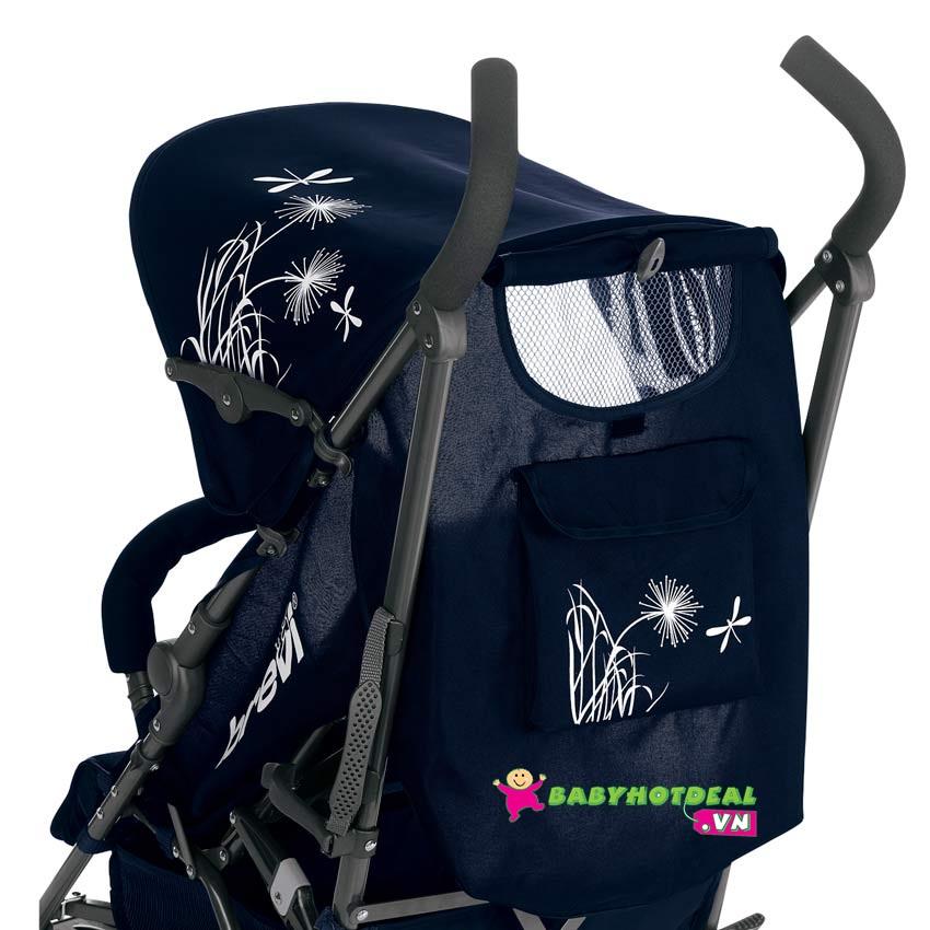 Xe đẩy em bé Brevi Marathon màu xám BRE763-450
