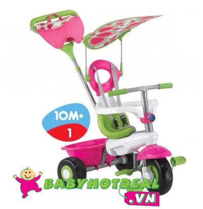 Xe đạp trẻ em 3 bánh Smart-trike Fresh xanh, trắng, hồng