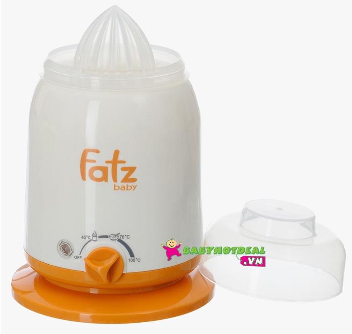 Máy hâm sữa và thức ăn 4 chức năng Fatzbaby FB3002SL