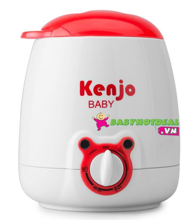 Máy hâm sữa và thức ăn siêu tốc đa năng Kenjo KJ-10