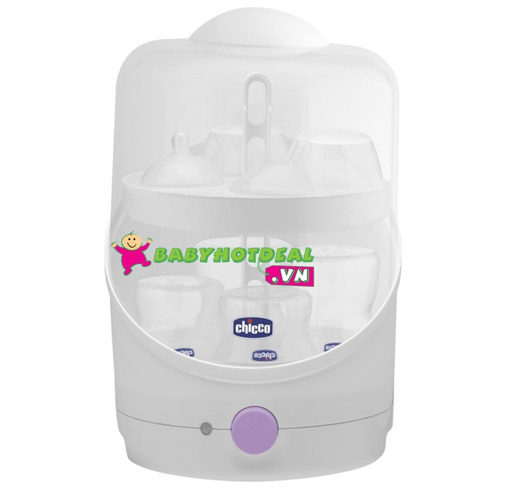 Máy tiệt trùng bình sữa Chicco 67289002