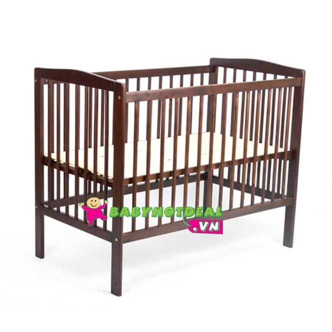 Giường cũi trẻ em XK Úc Màu nâu 70x123