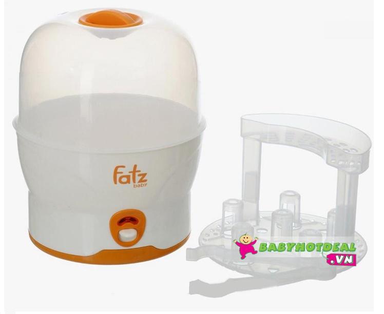 Máy tiệt trùng bình sữa hơi nước Fatzbaby FB4019SL(Không BPA)
