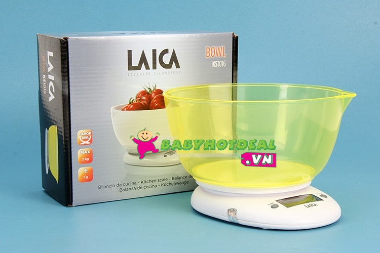 Cân nhà bếp Laica KS1016