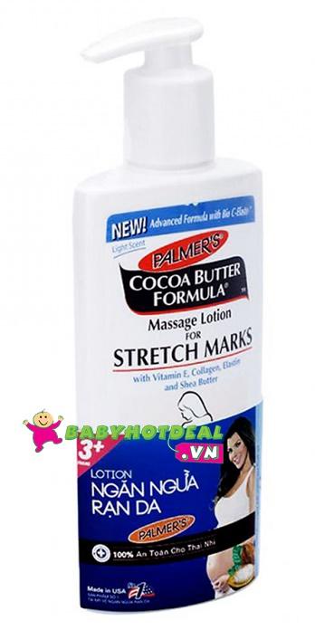 Sữa mat-xa chống rạn da Palmer's 250ml (cho bà bầu dưới 5 tháng)