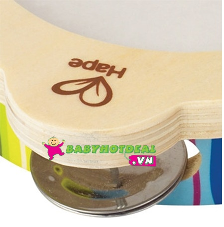 Đồ chơi gỗ trống lục lạc Hape E0304