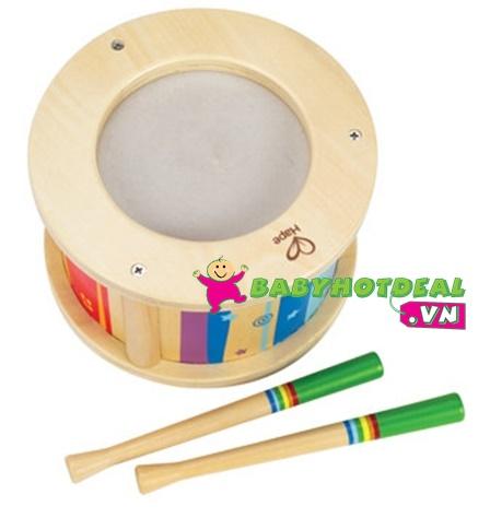 Đồ chơi gỗ trống con cho bé Hape E0303