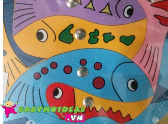 Đồ chơi gỗ bộ câu cá Winwin toys