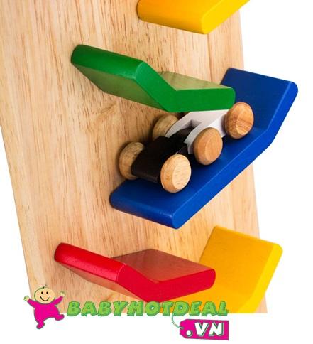 Đồ chơi gỗ vách xe rượt đuổi Winwintoys