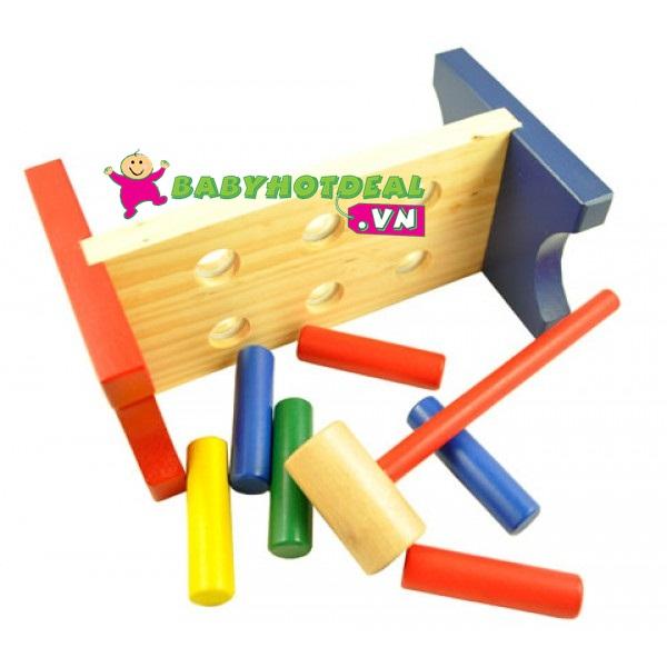 Đồ chơi gỗ búa đập cọc Winwin toys 60192