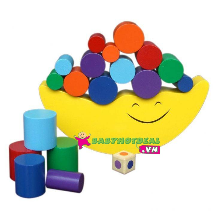 Đồ chơi gỗ cân bằng mặt trăng Winwin Toys 64072