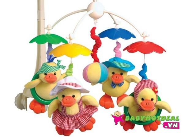 Treo nôi có nhạc Canpol Happy Duck 2/316