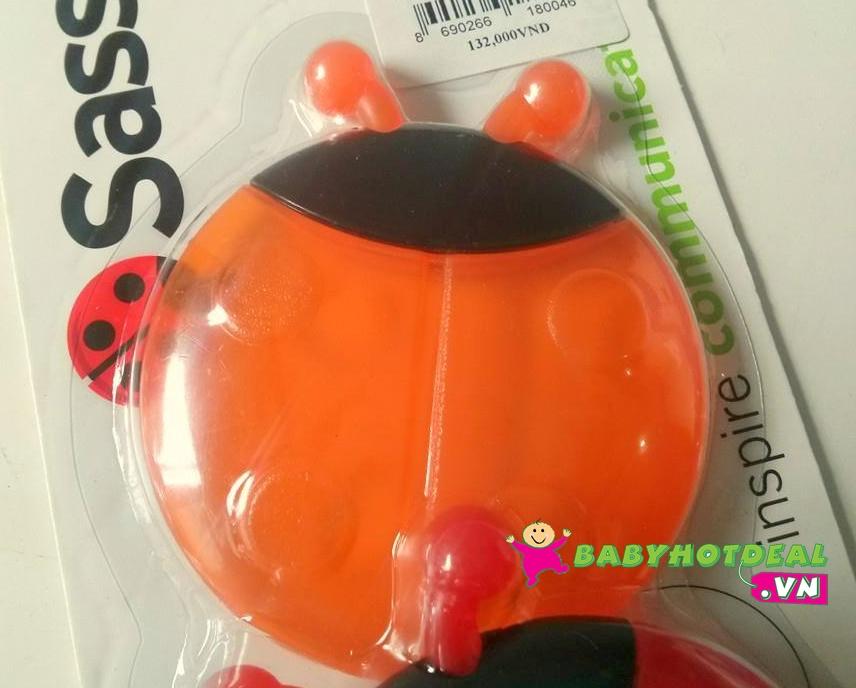 Ngậm nướu hình con bọ Sassy 80018