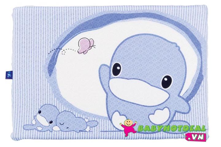 Gối cao su chống ngạt cho bé KUKU KU2047 (30 x 45 x 2,5cm)