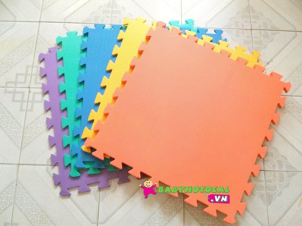 Thảm xốp mềm cho bé miếng rời (60cm x 60cm x 1cm)