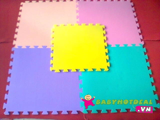 Thảm xốp mềm cho bé miếng rời (60cm x 60cm x 2cm)