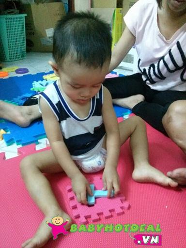 Thảm xốp mềm cho bé 1 bộ 40 miếng chữ số và phép tính (15cm x 15cm)