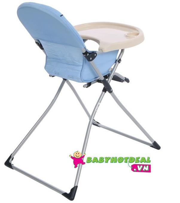 Ghế ăn bột Hauck Mac (màu xanh - màu đỏ)