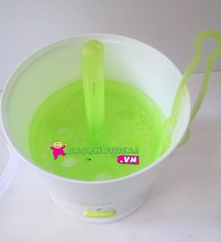 Máy tiệt trùng bình sữa siêu tốc Kenjo KJ01X
