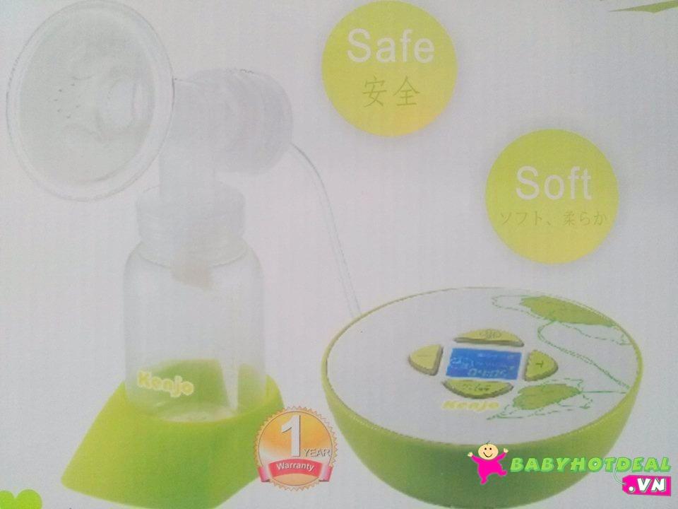 Máy hút sữa điện Kenjo có nhạc và màn hình LCD KJ07P