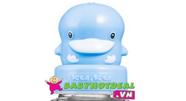 Bình sữa cổ rộng KUKU nhựa PES KU5126 (120ml)