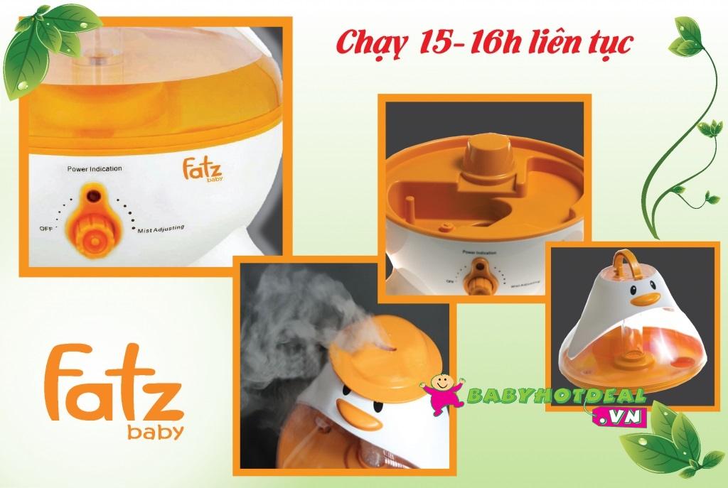 Máy tạo hơi ẩm Fatzbaby công nghệ siêu âm FB6126JX