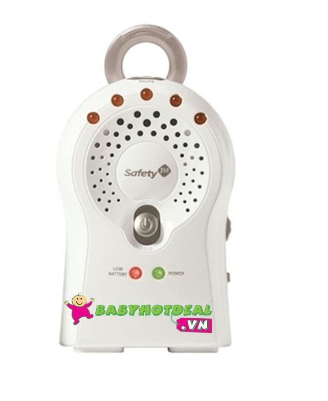 Máy báo khóc đơn có đồng hồ Safety MO069