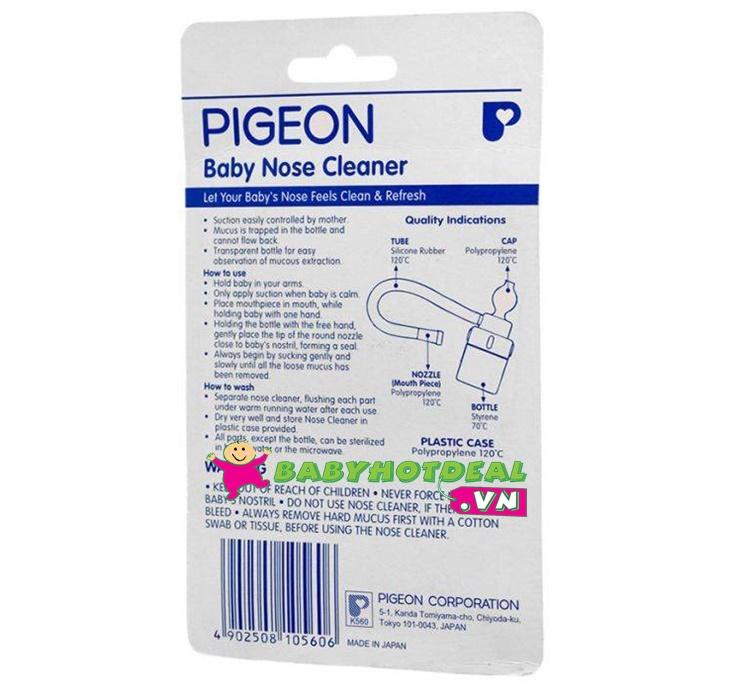 Dụng cụ hút mũi vòi Pigeon PG60004