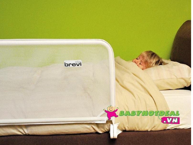Thanh chắn giường cho bé Brevi BRE312 (150cm)