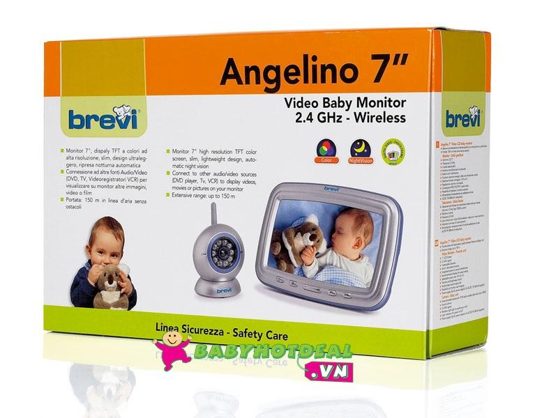 Máy báo khóc quan sát bằng camera Brevi Angelino BRE393