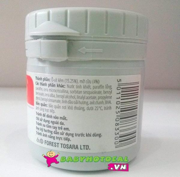 Kem chống và trị hăm Sudocrem 60g