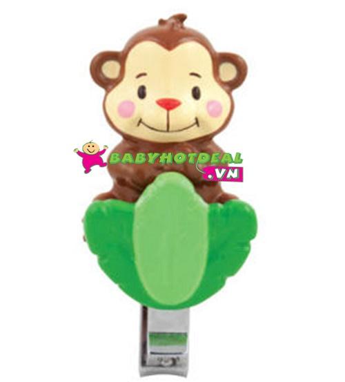 Cắt móng tay hình con khỉ Sassy SAS38001
