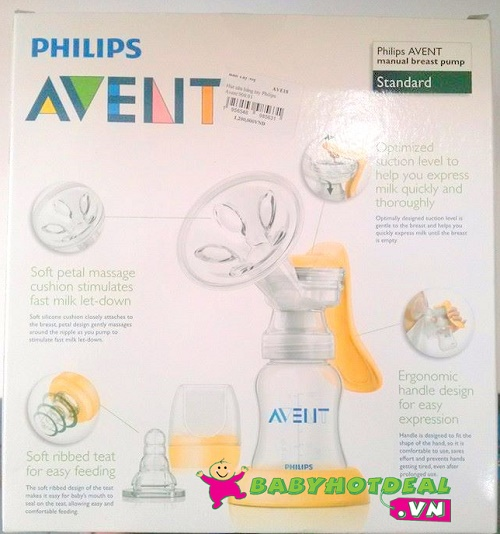 Máy hút sữa Philips Avent bằng tay 900.01