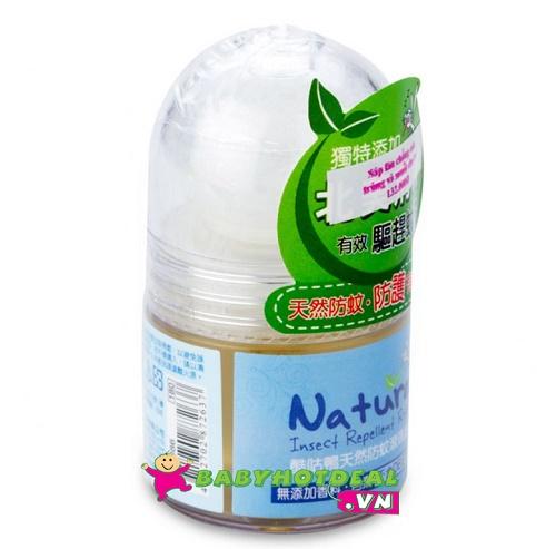 Sáp lăn chống côn trùng và muỗi tự nhiên KUKU cho bé KU1086