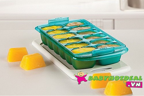Khay trữ đông thức ăn Munchkin 40606 (bộ 2 khay)