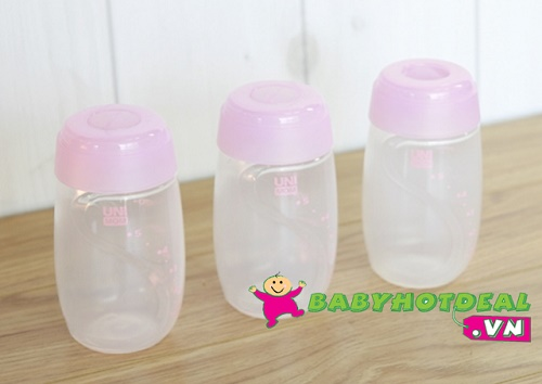 Bình trữ sữa Unimom UM880045 (bộ 3 cái)
