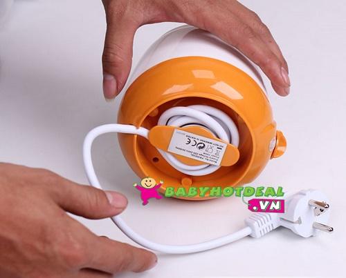 Máy hâm sữa siêu tốc không BPA Fatzbaby FB3000SL