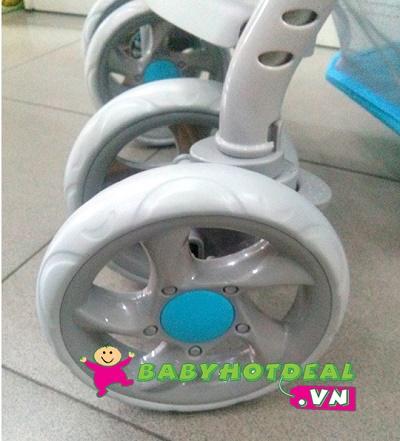 Xe đẩy trẻ em Zaracos James 6186 (xanh dương)