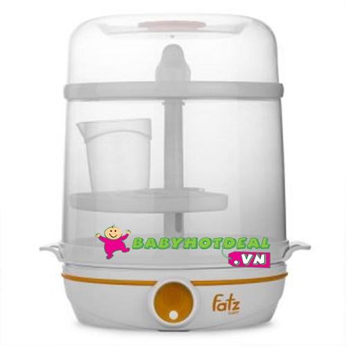 Máy tiệt trùng bình sữa điện tử 2 trong 1 Fatzbaby FB4005SB