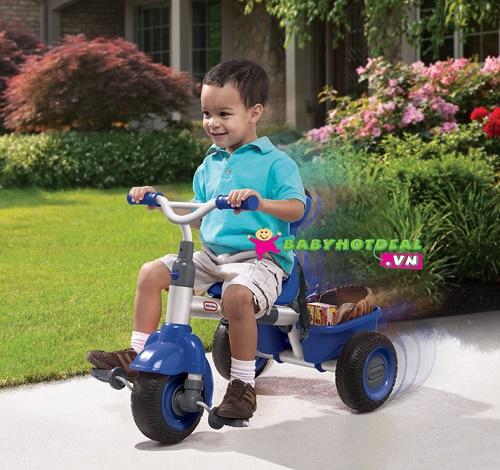 Xe đạp 3 bánh trẻ em Little Tikes (xanh navy)
