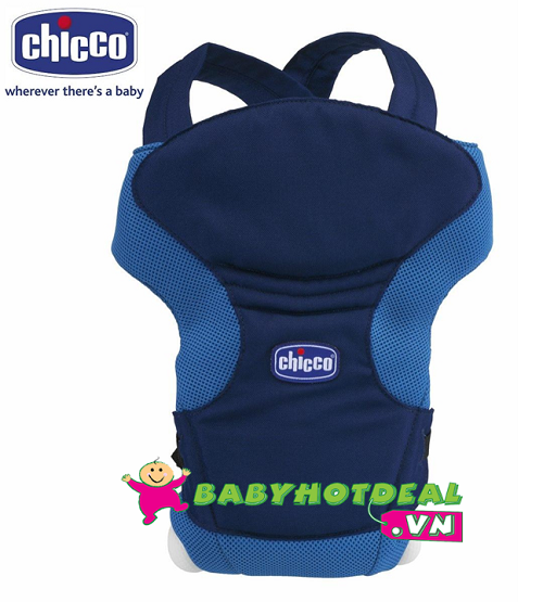 Địu em bé Chicco (có 3 màu: xanh, đỏ, be)